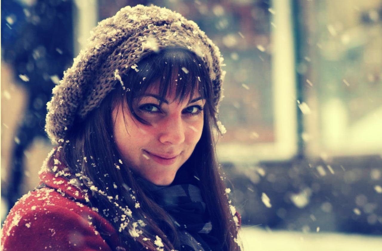 Zimný  outfit – hlavná misia teplé oblečenie