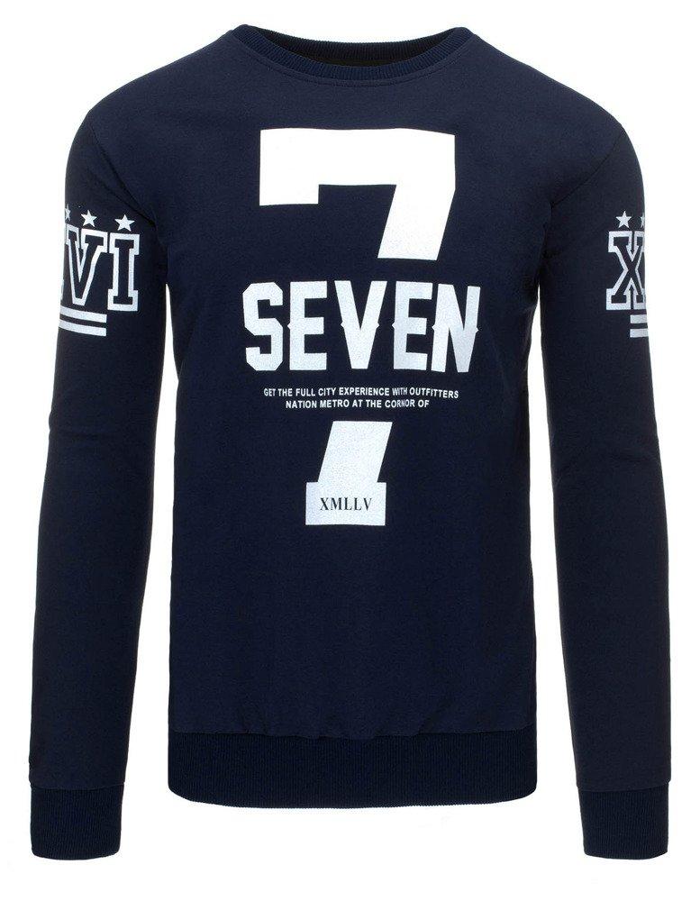 Pánske tričko s podtlačou námornícko modré