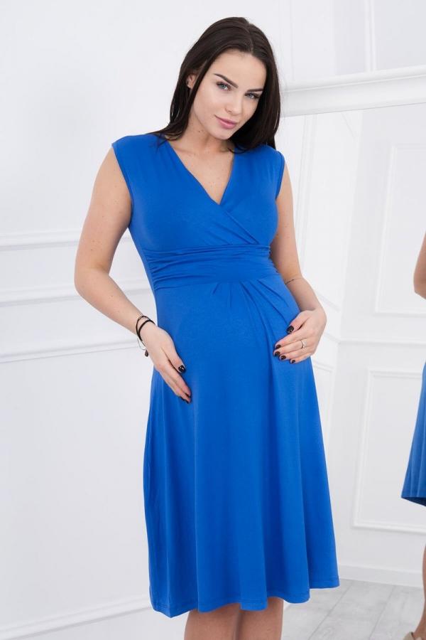 Materské šaty námornícka modra