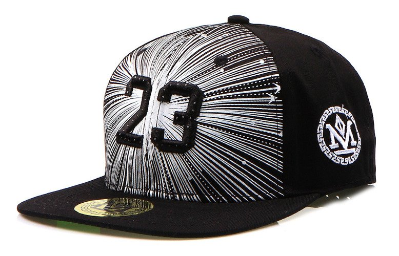 Pánska čiappka snapback čierna