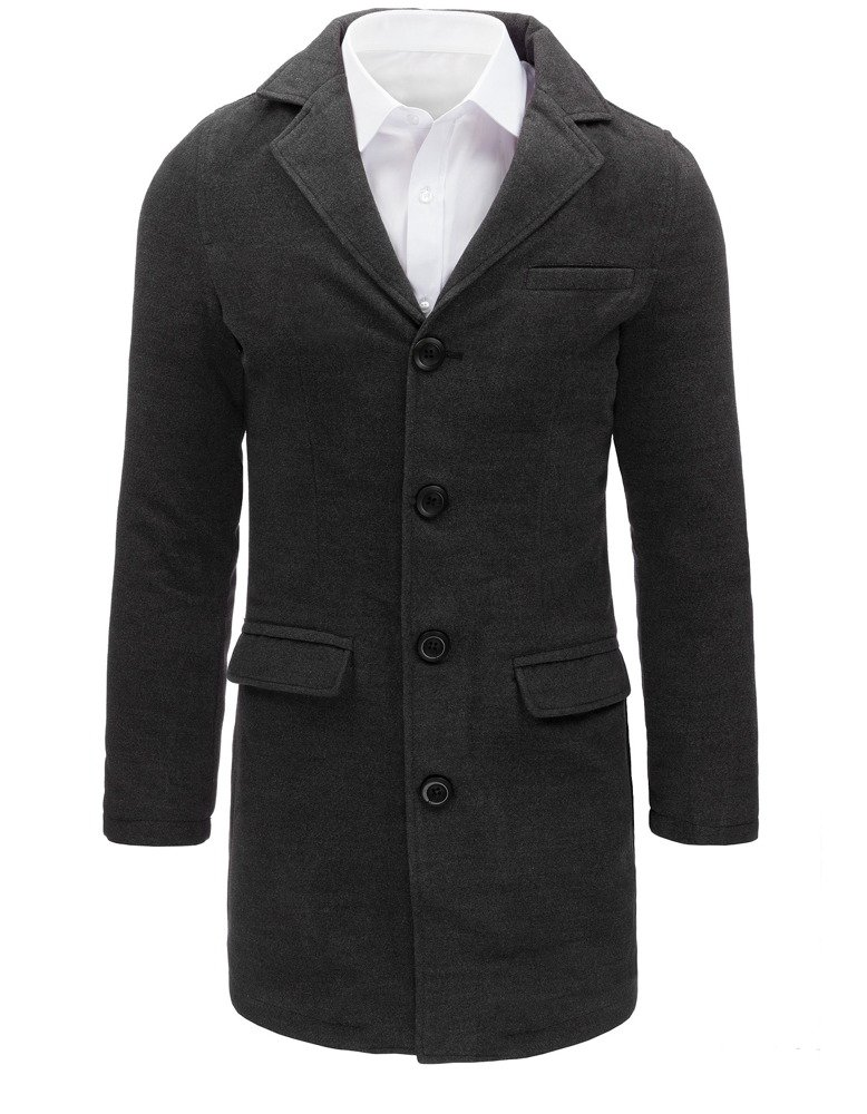Pánsky kabát antracit