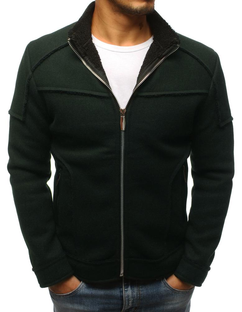 Pánsky kabát zelený