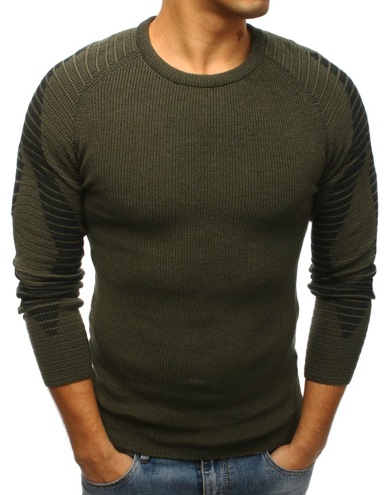 Pánsky sveter zelený
