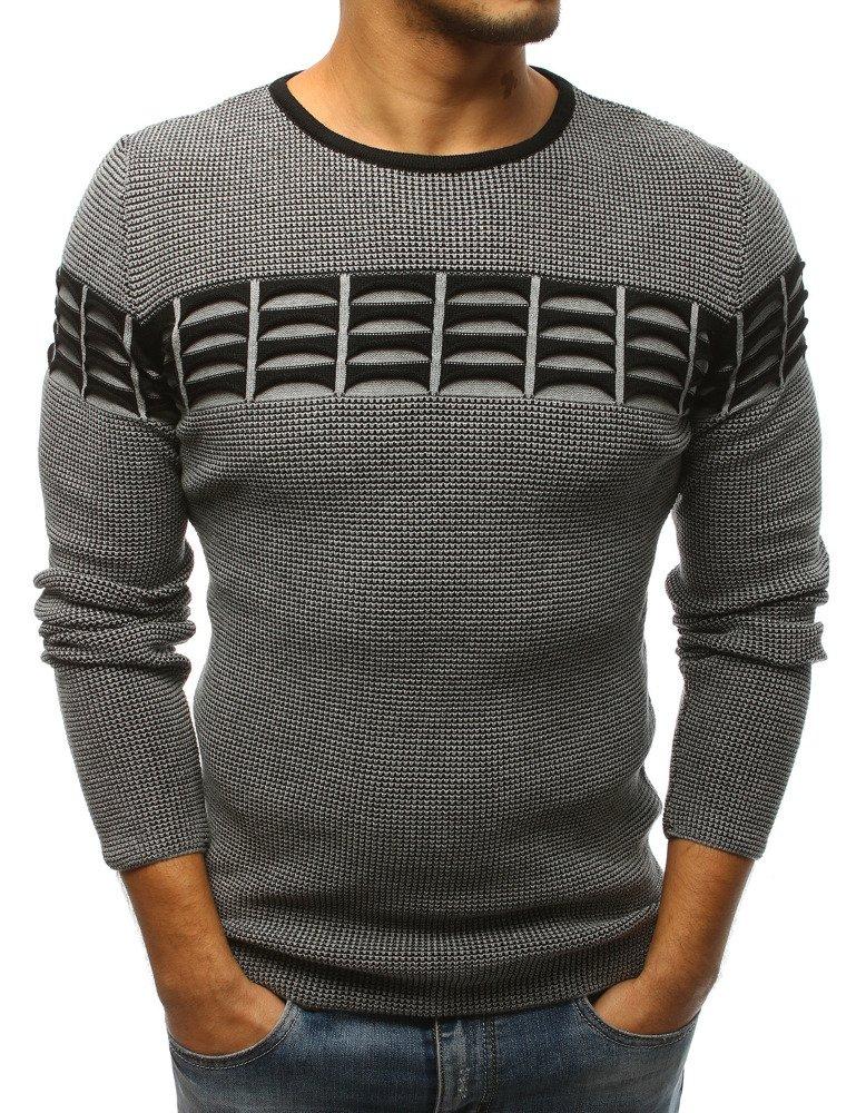 Pánsky sveter šedý