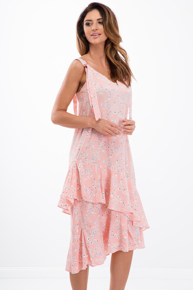 Šaty svetlo ružové
