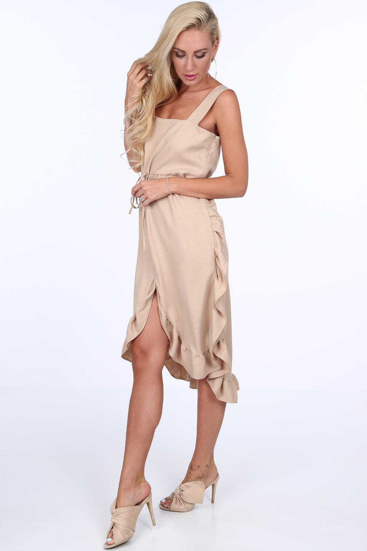 Šaty béžové