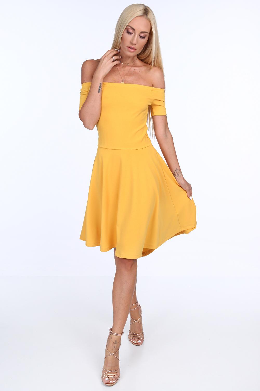 šaty žlté