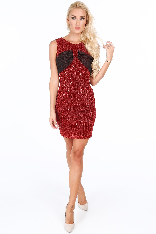 Šaty elegantné červené