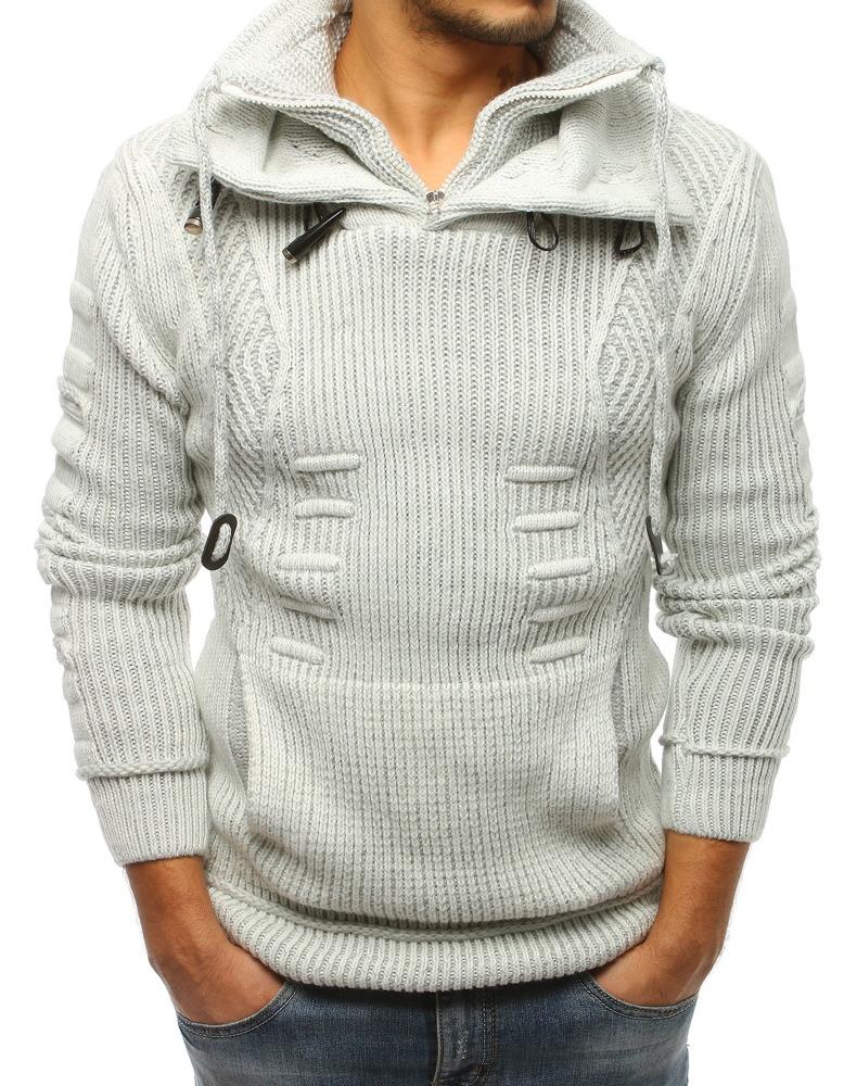 Panský sveter ecru
